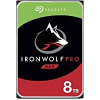 Seagate 希捷 IronWolf Pro 8TB NAS 内置硬盘 – 3.5英寸 SATA 6Gb/s 7200…