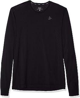 Craft 男士打底衫:软针织舒适圆领长袖吸汗上衣