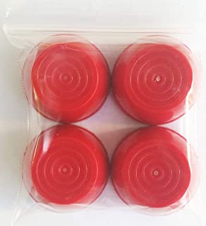 Quadrapoint 轮毂盖适用于 Radio Flyer 塑料和折叠车的 7/16 英寸(约 1.2 厘米)(不适用于木材或钢车)