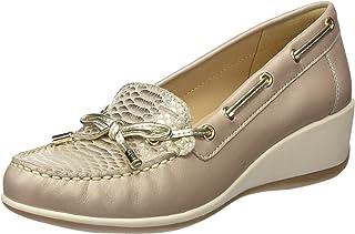 Geox 女士 D Arethea A 软皮鞋