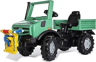Rolly Toys 038244 rollyUnimog Forst Edition 2020(儿童unimog,踏板车)- 包括rollyPowerwinch,可调节座椅,带消声轮胎