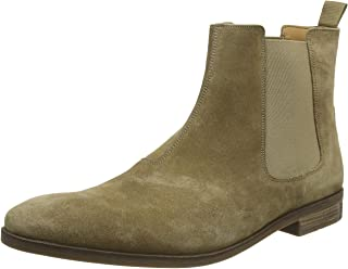 Clarks 男士Stanford Top切尔西靴子