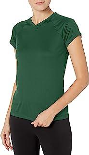Champion 女式短袖双干性能 T 恤