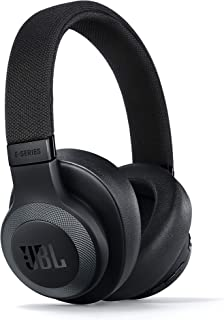 JBL JBLE65BTNCBLK 无插头耳式降噪耳机JBLE65BTNCBLK Matte Black