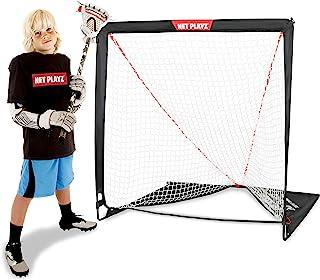儿童曲棍球门 - 后院训练、练习和锻炼 | 便携式曲棍球网、装备和装备
