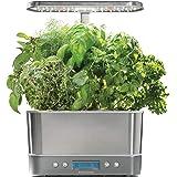 AeroGarden Harvest Elite室内植物培育盆 - 不锈钢