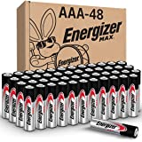 Energizer AAA Batteries, Triple A Battery Max 碱性 AAA-48 48 C…