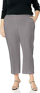 Alfred Dunner 女式加大码涤纶比例短裤