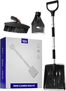 VViViD 扫雪道路套件,带铲子,冰刮刀和冰刷