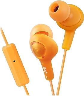 JVC HAFR6D Gumy Plus High Quality Headphones (Orange)