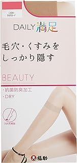 (DAILY MANZOKU)DAILY MANZOKU 6双装 (3P ×2)粗花呢短 丝袜