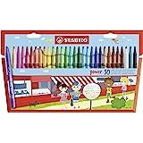STABILO 可水洗尖笔(30 支装) 多种颜色 1包 015188
