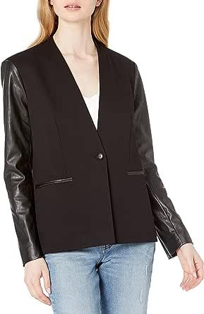 BCBGMAXAZRIA 女式长袖常规西装外套