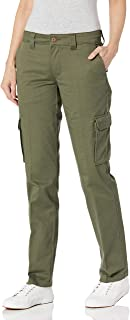 Dickies 女式宽松弹力工装直筒裤
