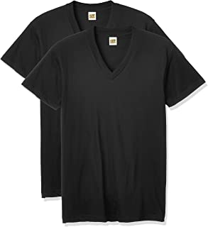Gunze 郡是 男士 G.T.HAWKINS V领基础款T恤 棉100% 2件装 HK10152