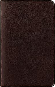 Filofax 私人日程本,传统风格,棕色,DIN A6