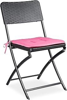 Relaxdays 折叠椅 BASTIAN 可折叠花园椅 HBT Optik 1 Stück 10020055_415