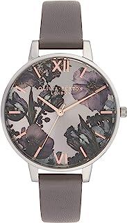 Olivia Burton 女士指针式石英手表皮革表带OB16TW05