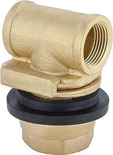 H2O PRO 无底适配器适用于潜水泵(适合外壳尺寸 10.16 厘米 - 20.32 厘米)排水管 2.54 厘米,外壳孔 1-3/4 英寸,型号 148106