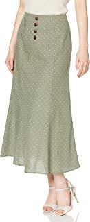 [FREE MIT] 裙子 正面波立托美人鱼裙 女士 131-0220011