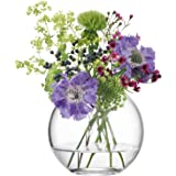 LSA 国际地球仪花瓶,透明 透明 11 cm G1161-11-301