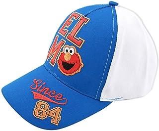 Sesame Street Elmo 棒球帽,蓝色/白色,幼儿男孩,年龄 2-4 岁