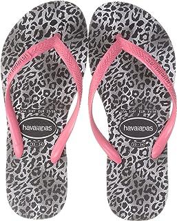 Havaianas 女士 沙滩凉鞋 (豹纹印花)[ HA3-070 / SLIM LEOPARD ] 可爱 海 沙滩