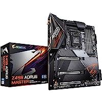 GIGABYTE 技嘉 Z490 AORUS Master (Intel LGA1200/Z490/ATX/Intel…