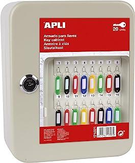 APLI- 钥匙柜 - 奶油色 (17137)
