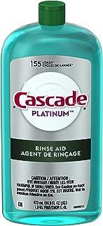 Cascade Platinum Aid 洗碗机冲洗剂,普通香味,16 液盎司
