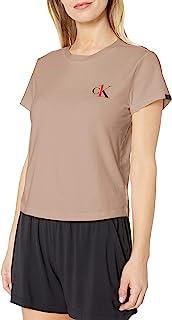 Calvin Klein 女式 CK One 棉质短袖圆领