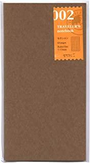 Midori Traveler's notebook 方格本内芯 |标准型002 64P