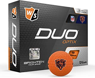 Wilson Duo Soft+ NFL 高尔夫球(1打)