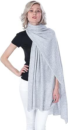 * 羊绒围巾披肩超大围巾 - 羊绒 4 U