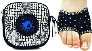 Spinner Skins 瑜伽氯丁橡胶防滑瑜伽袜防滑半鞋底带袋