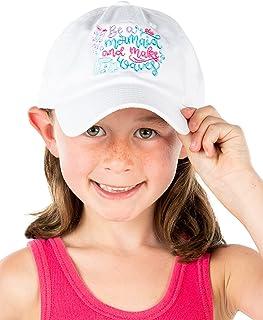 Funky Junque 儿童幼儿女孩男孩低调水洗棉棒球帽
