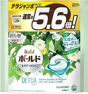 Bold 洗衣液 凝胶球 洗衣水 排除洗衣水 绿色花园&迷宫 替换装 84个(约5.6倍)