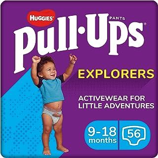 Huggies 2919111 Explorers Boy Pull-Ups 训练裤,尺码 4
