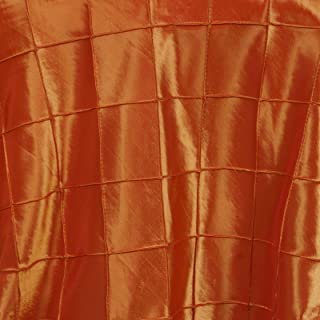 Pintuck 方形叠层 - 182.88 厘米 x 182.88 厘米 | 橙色 | 1 件