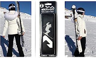 Skiweb 经典免提雪橇吊带背带。 垂直易用的滑雪和杆背带