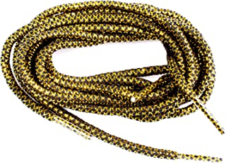 xxiii- 金色金属螺纹绳鞋带适合运动鞋和鞋子 涤纶适合跑鞋