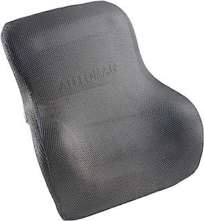 Highliving *泡沫腰背支撑垫家居汽车汽车办公座椅 黑色 Standard NULL
