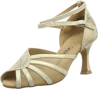 Diamant 女式 Damen Latein Tanzschuhe 020-087-017 交际舞鞋,9