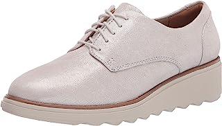 Clarks 女式 Sharon Noel 牛津鞋