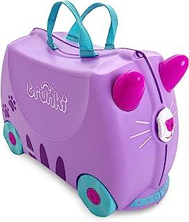 Trunki Trolley 儿童行李箱,儿童手提行李: Tipu Tiger(橙色) Cassie Katze (Lilac) 46 cm