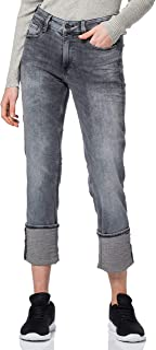 G-STAR RAW 女式 4311 Noxer 高腰直筒牛仔裤