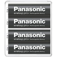 【Amazon.co.jp限定】パナソニック エネループ 単3形充電池 4本パック 大容量モデル eneloop pro…
