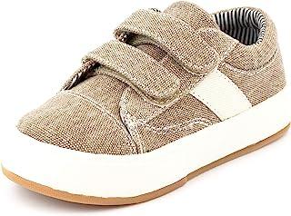 MORGAN & MILO Miles 双 V 运动鞋,适合男孩和幼儿,尺码 6-13