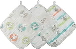 aden by aden + anais 细棉布 Disney水洗布套装3件装 flying dumbo ADISN456J