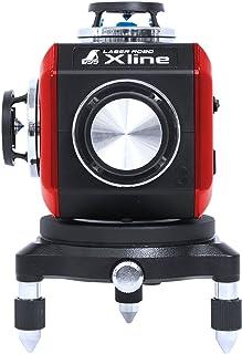 シンワ測定 レーザー 墨出し器 LASER ROBO Xline (レーザーロボ エックスライン) レッド フルライン・地墨クロス 71607